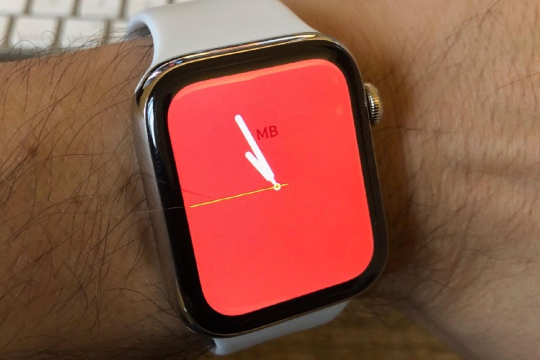 Le cadran Couleur prend ses aises avec watchOS 5.1