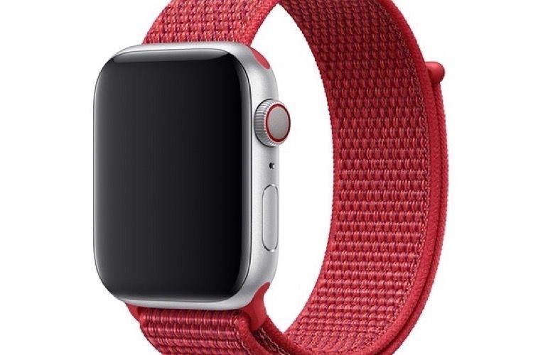 Une version (PRODUCT) RED pour le bracelet BoucleSport