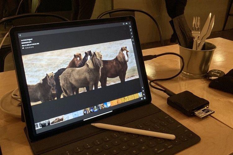 Le nouvel iPad Pro gère sans problème des images de 100mégapixels