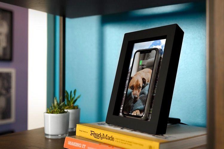 PowerPic, un cadre photo qui recharge aussi votre smartphone