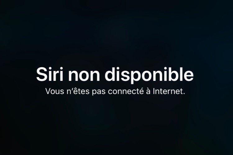Brevet : Apple planche sur un Siri en local, sans connexion internet