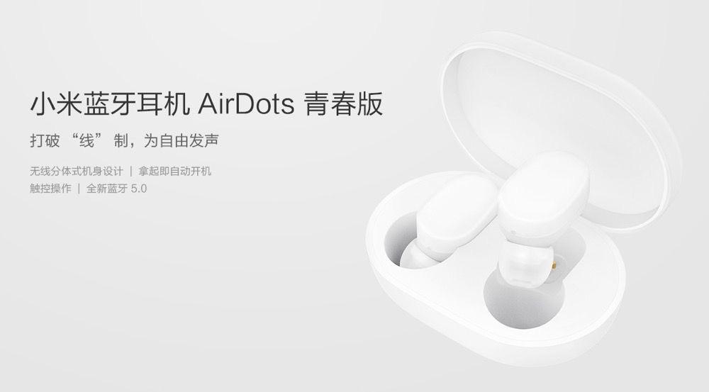Les écouteurs sans-fil Xiaomi AirDots à 32 — Bon Plan