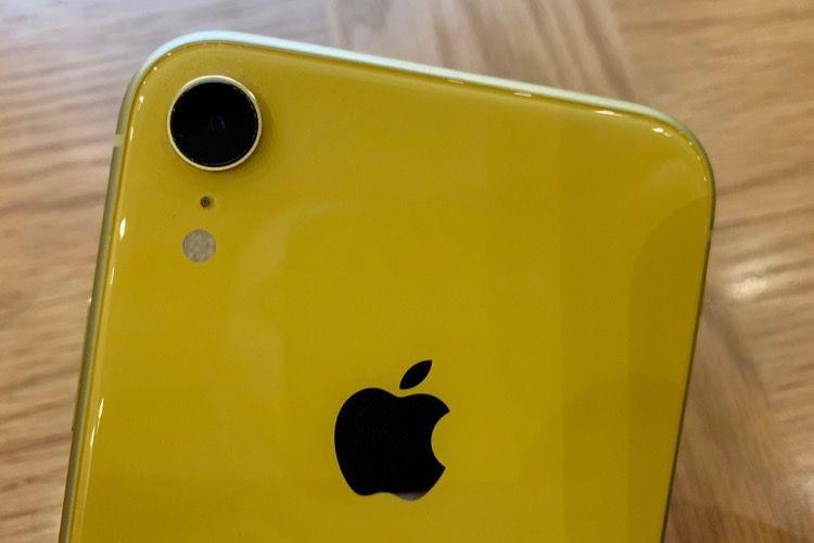 Une nouvelle version d'iOS 12.1 pour les iPhoneXR