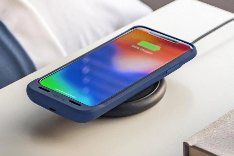 Mophie : un étui-batterie compatible QI pour iPhone XetXS