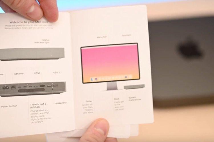 Est-ce le nouvel écran d'Apple dans le manuel du Macmini?