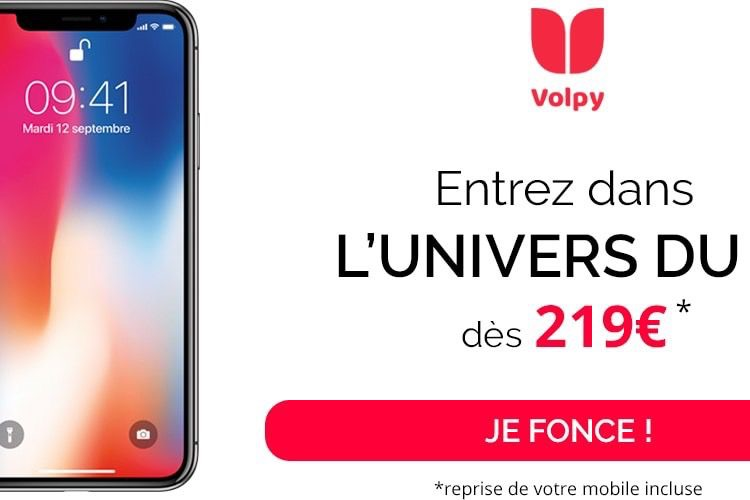 L'iPhone X à partir de 219 €, c'est possible !
