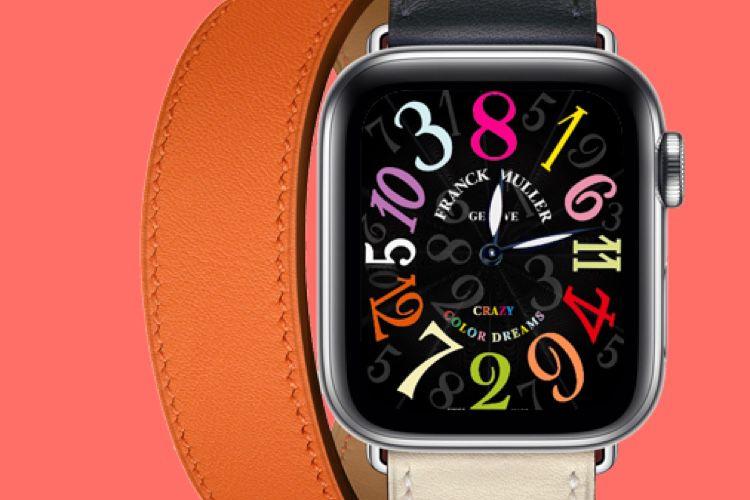 Des cadrans d'Apple Watch vendus à la pièce