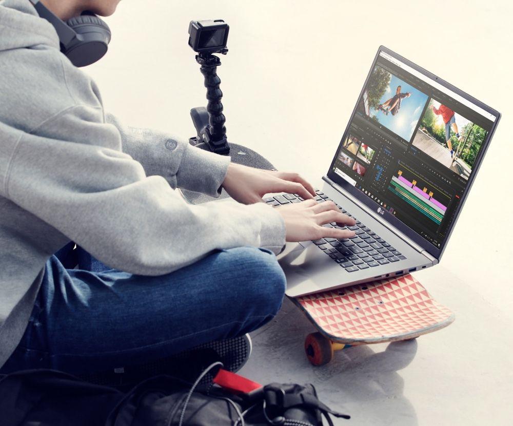 LG gram 17 : un grand écran dans un poids de petit MacBook