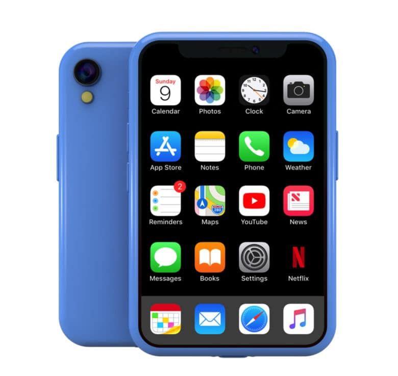 Concept : et pourquoi pas un iPhone X mini !