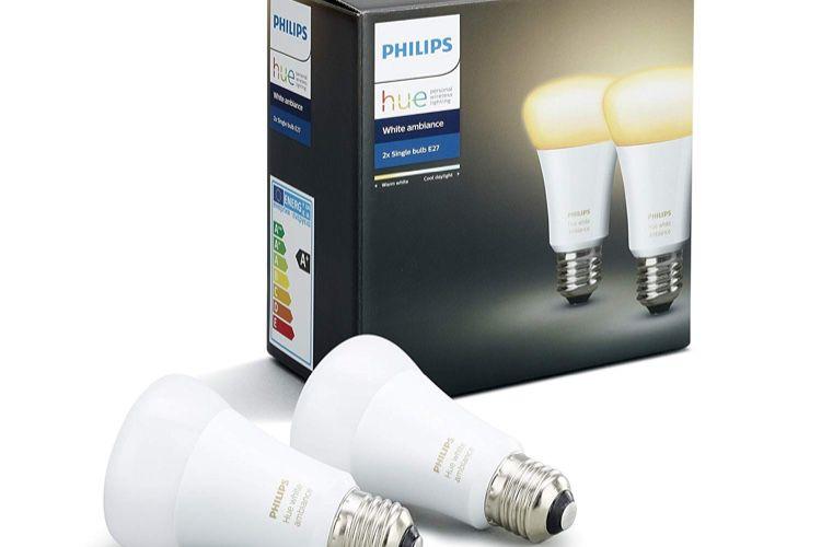 Promos : trois ampoules Hue à 55€, un câble Lightning MFI en jean à 9€