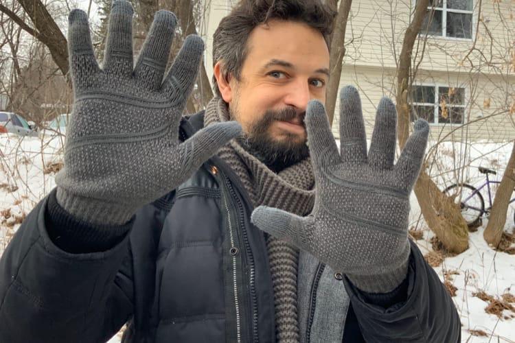 Prise en main des gants tactiles Digits de Moshi