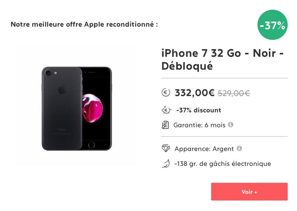 bbda776a26f249 L iPhone 8 64 Go ne manque pas d arguments pour séduire, et son prix n est  plus une contrainte. En effet, à 482 € en finition Bronze, ...