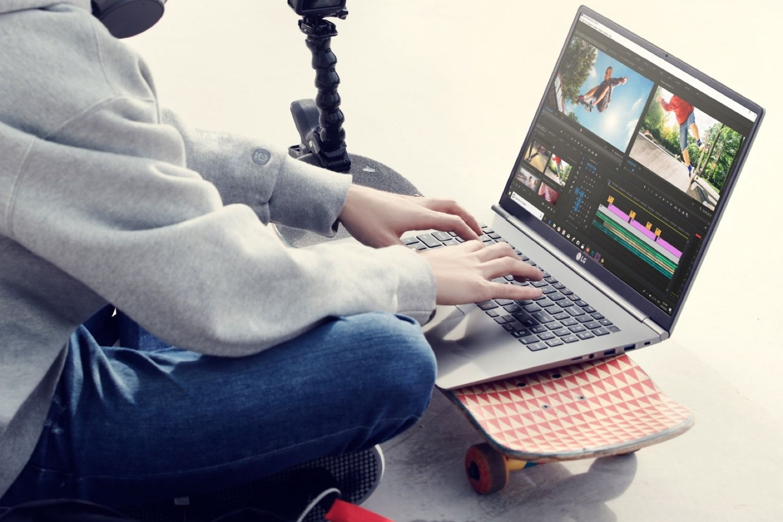 LG gram 17 :un grand écran dans un poids de petit MacBook Pro
