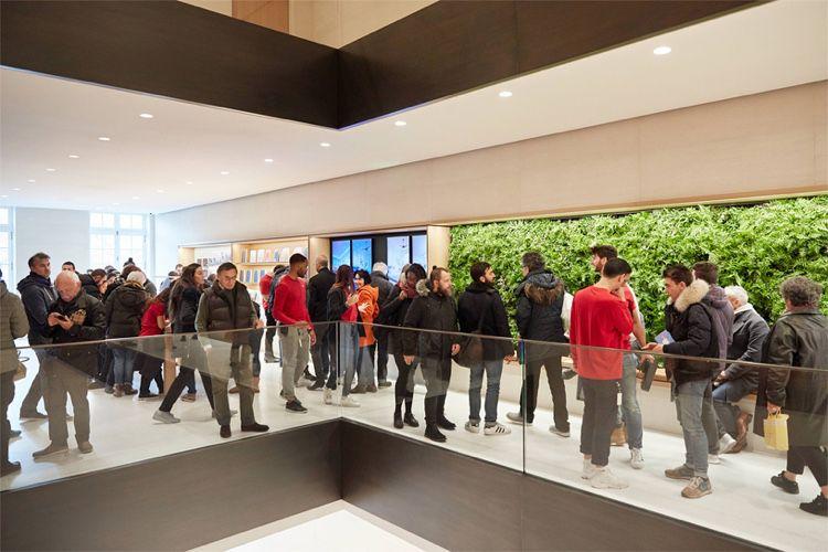 Les Apple Store dans Paris seront fermés ce 8 décembre
