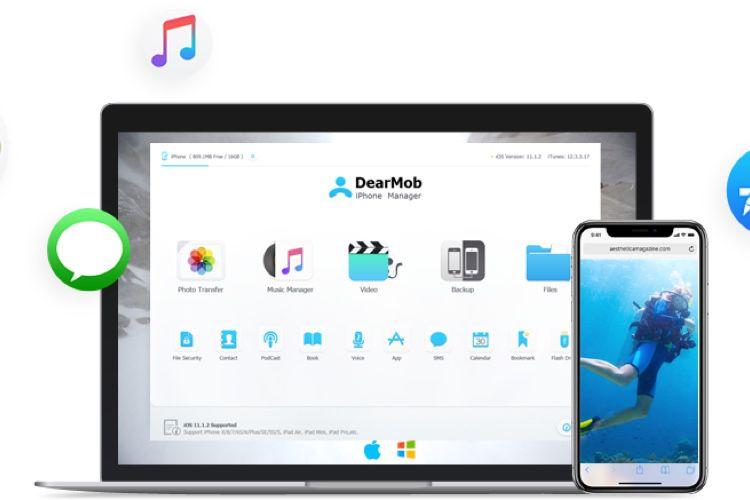 📣 55 % de réduction sur DearMob iPhone Manager pour les fêtes de fin d'année
