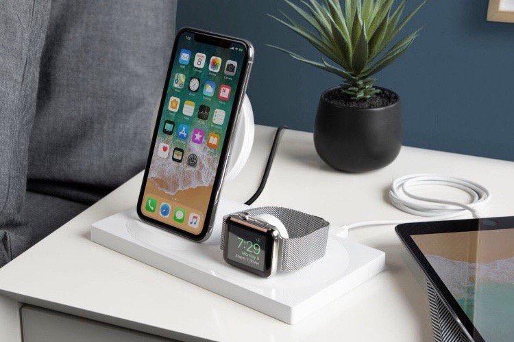 La station de recharge 3 en 1 BOOST↑UP de Belkin uniquement chez Apple