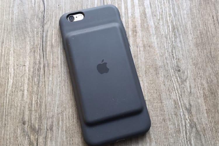 Apple aurait une nouvelle Smart Battery Case pour les derniers iPhone
