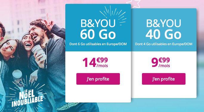 30ddbe927043b4 Bouygues, SFR, Sosh et Free ont tous un forfait à 10 € pour beaucoup de DATA