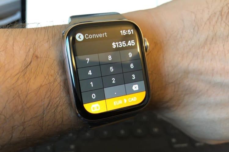 Calcbot : une petite calculatrice au poignet