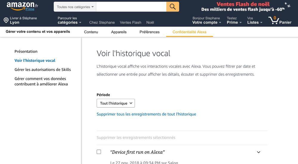 Alexa envoie 1700 enregistrements privés au mauvais destinataire (oups...) — Amazon