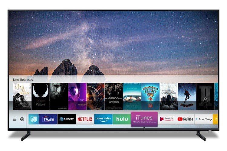 Les films et séries TV de l'iTunes Store disponibles sur les Smart TV Samsung