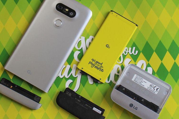 LG lancerait un smartphone avec second écran détachable