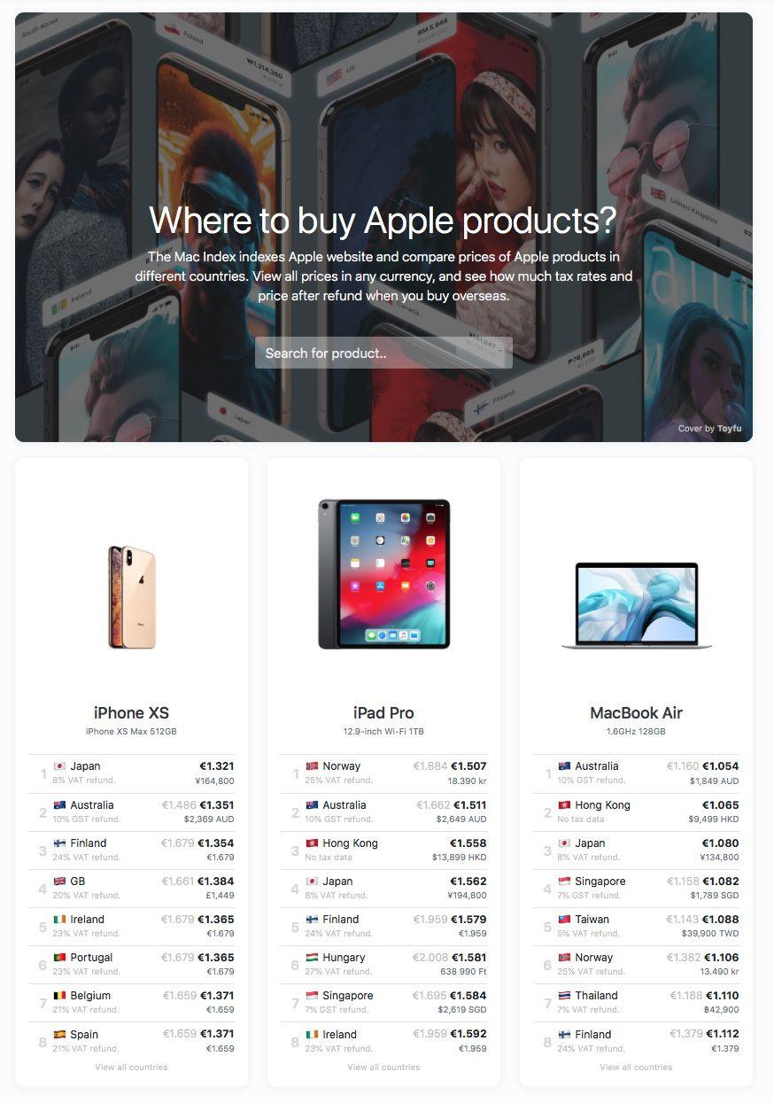 Rechercher tous les produits