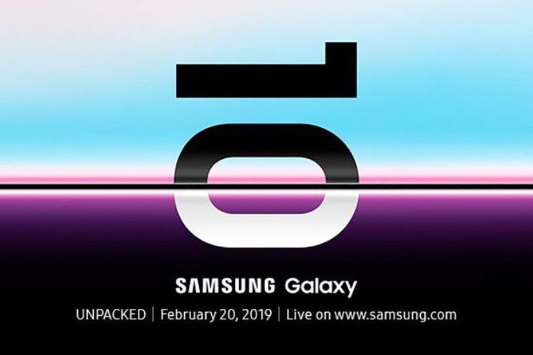 Un événement Samsung le 20 février pour les Galaxy S10 (et le Galaxy pliable ?)