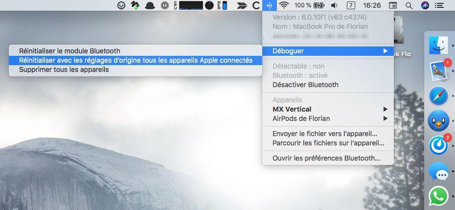 mon mac ne detecte pas mon casque bluetooth