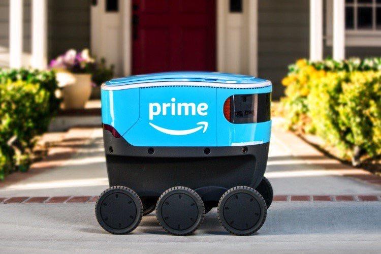Scout, le robot autonome d'Amazon, est toujours prêt à livrer