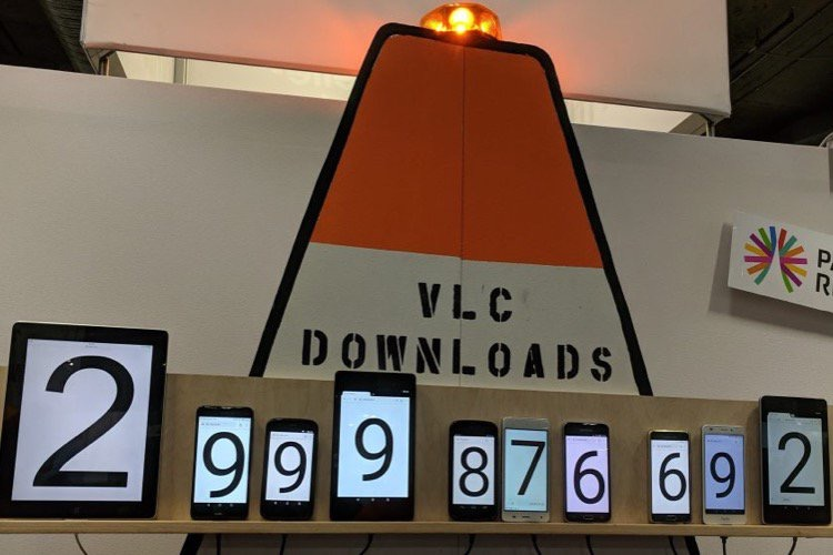 VLC : 3 milliards de téléchargements et le support d'AirPlay pour Android