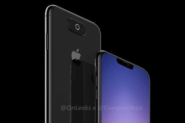 Trois appareils photo mieux intégrés dans ce nouveau prototype de l'iPhone XI