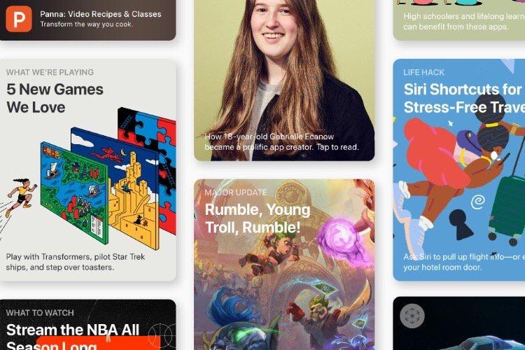 Ventes record sur l'App Store entre Noël et le jour de l'an