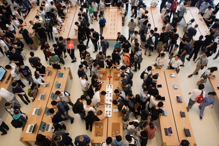 Les livraisons d'iPhone ont baissé de 2,5 millions d'unités en Chine en 2018