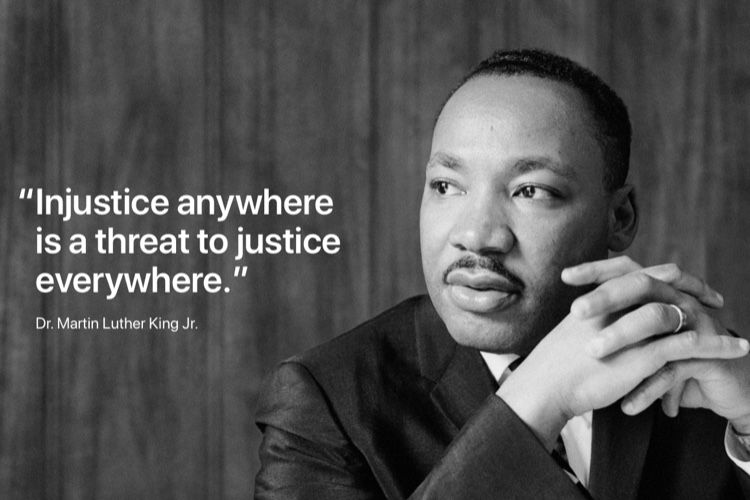 image en galerie : Hommage à Martin Luther King Jr sur apple.com