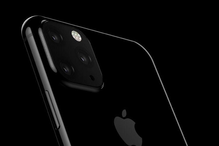 iPhone XI : un premier rendu avec 3 appareils photoaudos