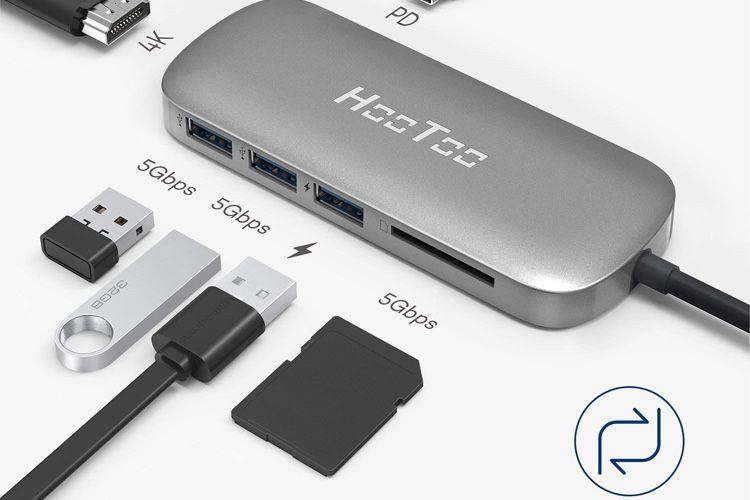 Promotions : télécommande Logitech Spotlight à63€ et Hub USB-C 100W HooToo à 39€