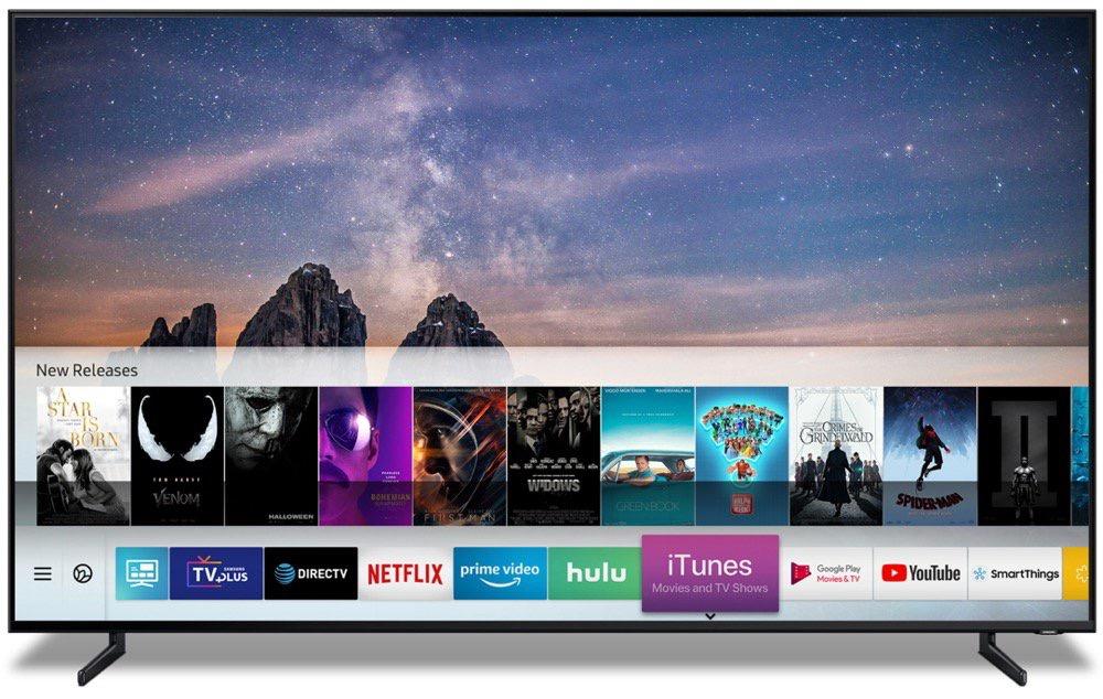 Les services d'Apple débarquent sur les téléviseurs du rival Samsung