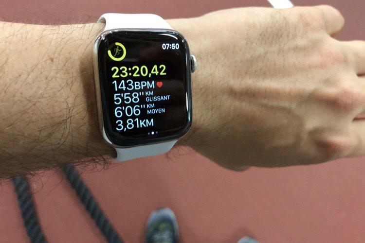 Les bonnes résolutions de l'Apple Watch : se mettre au sport