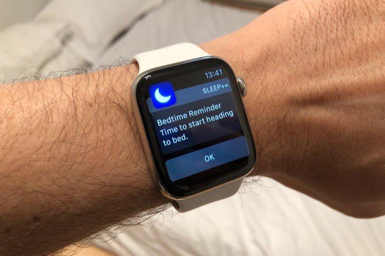 Les bonnes résolutions de l'Apple Watch : mieux dormir