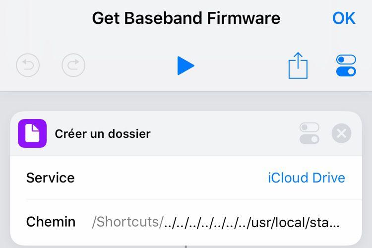 Sécurité : Raccourcis a accès aux fichiers du système