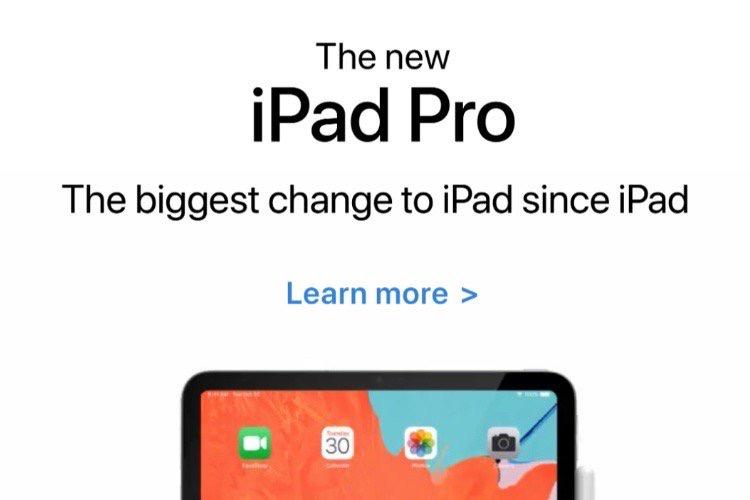 Un mini-site interactif pour l'iPad Pro et un mailing pour l'iPhone XR