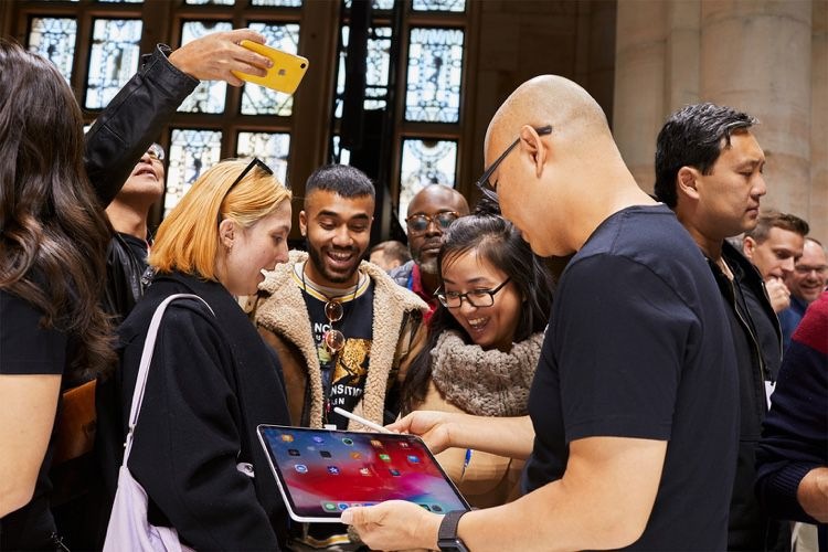 Apple règne en maître sur un marché de la tablette qui déprime