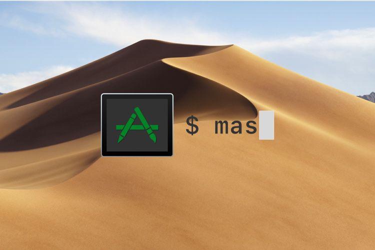 Terminal : mas supprime aussi les apps en ligne de commande