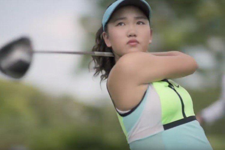 La prodige du golf Lucy Li dans l'embarras pour une pub Apple Watch