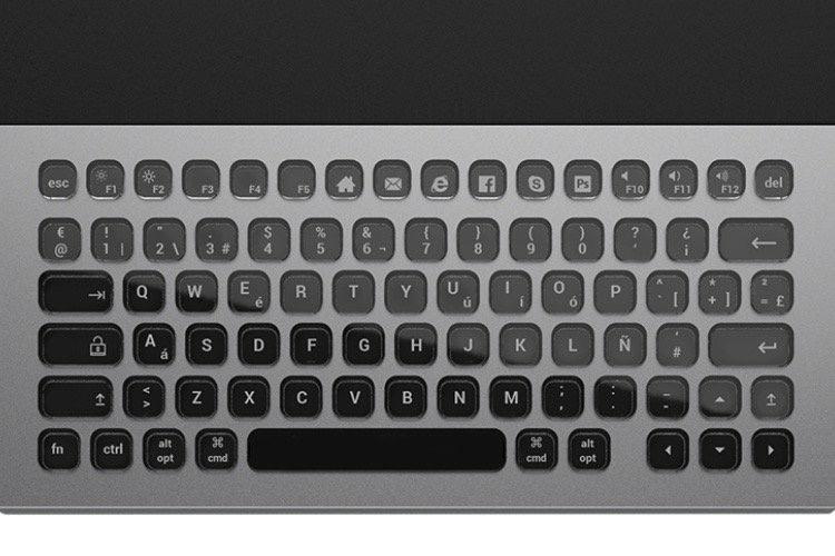 Le clavier Nemeio compte 81 touches à personnaliser