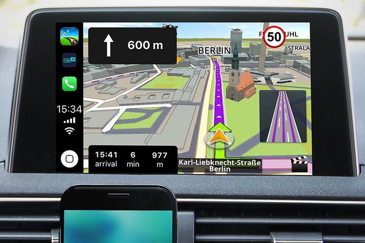 Sygic: la compatibilité CarPlay est en route