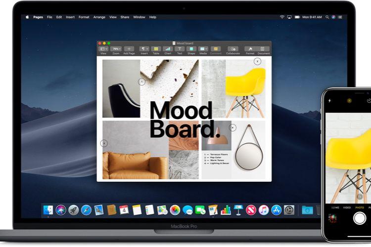 """PowerPoint, Excel et Word adoptent """"Appareil photo de Continuité"""" de Mojave et iOS 12"""