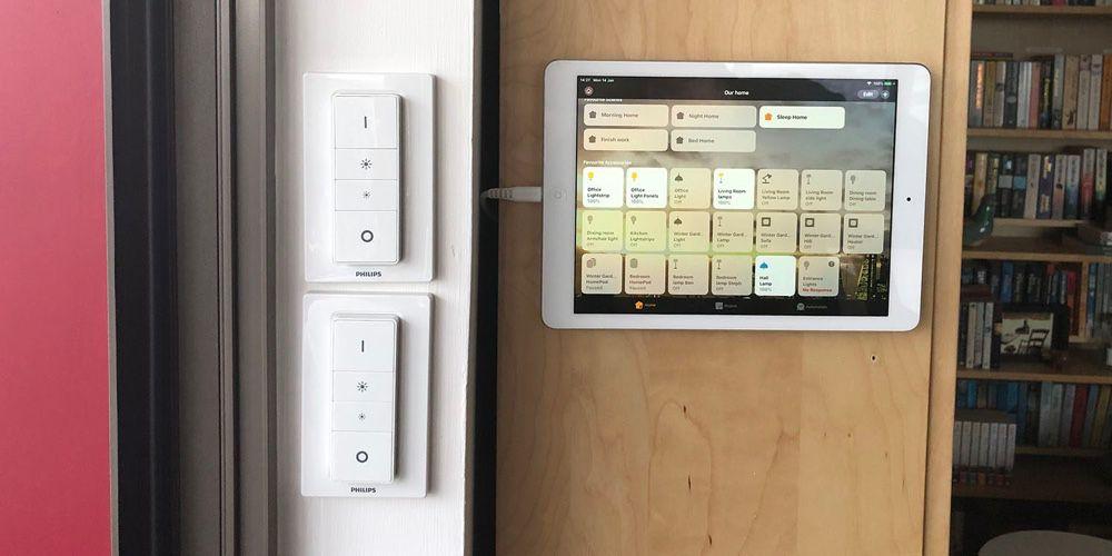 image en galerie : Recyclez votre vieil iPad en tableau de bord HomeKit