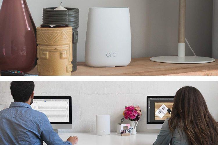 Promo : le Wi-Fi maillé ORBI RBK20 à 187€ au lieu de 220